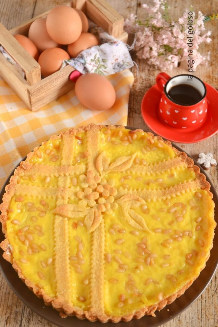 Ricetta Della Nonna Crema Pasticcera.Torta Della Nonna Tradizionale Crostata Con Crema Pasticcera La Pagina Del Goloso